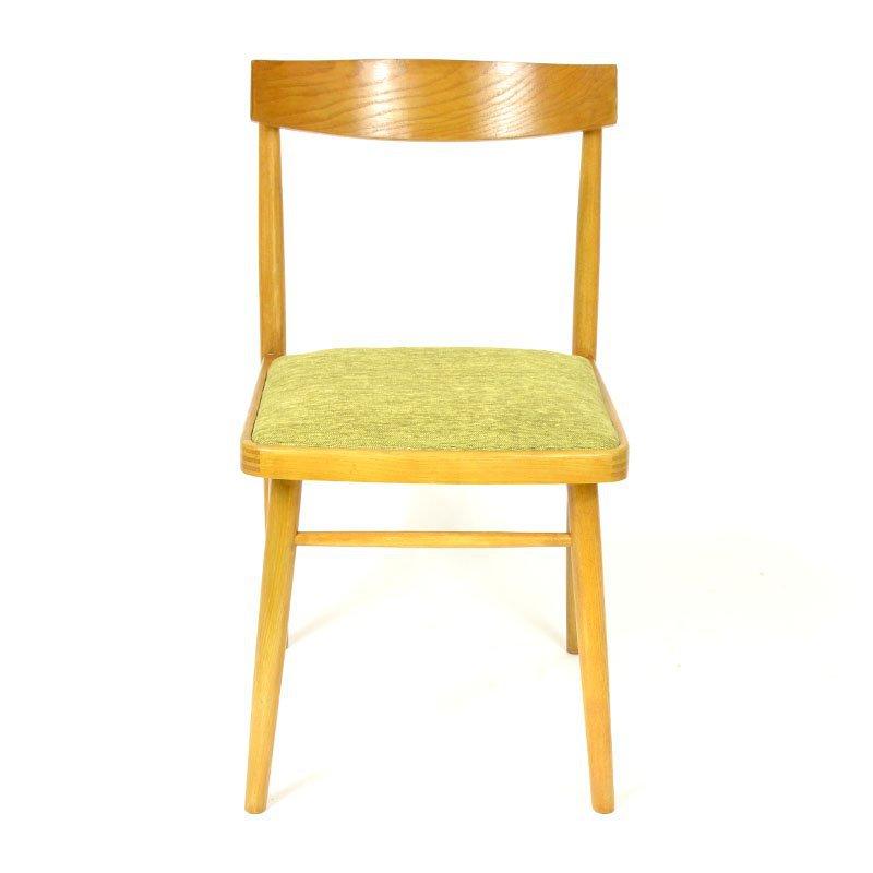Zelená židle TON