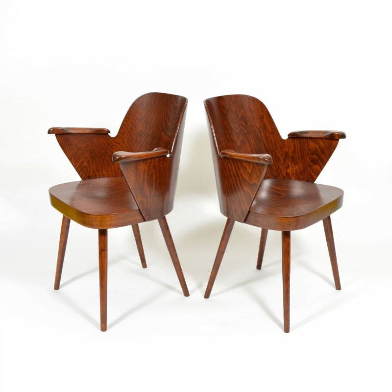 Oswald Haerdtl chair by Ton