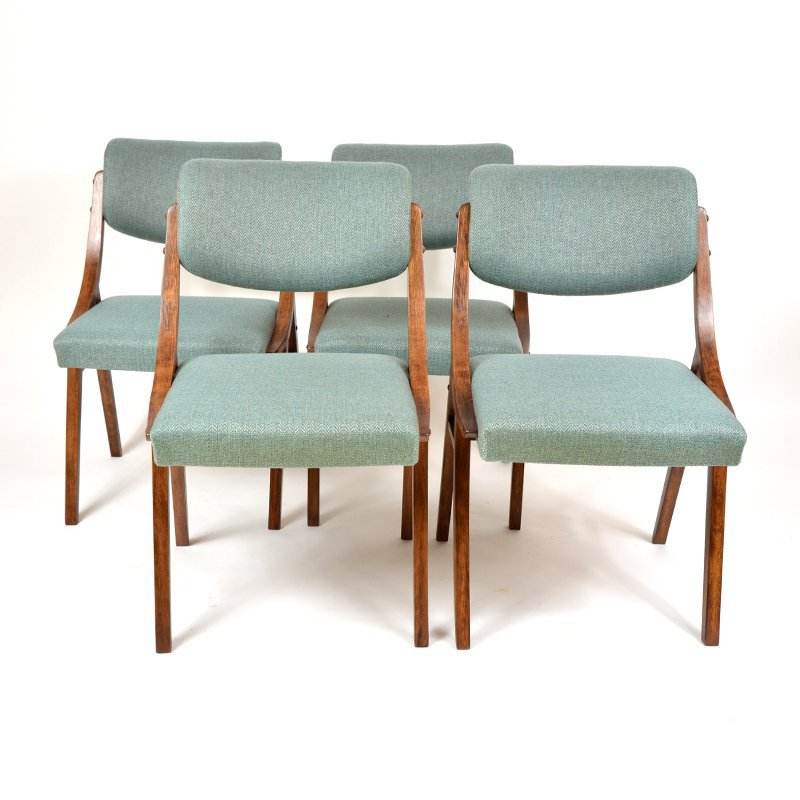 Upholstered TON chairs
