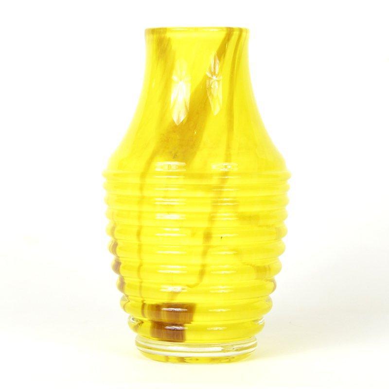 Žlutá váza