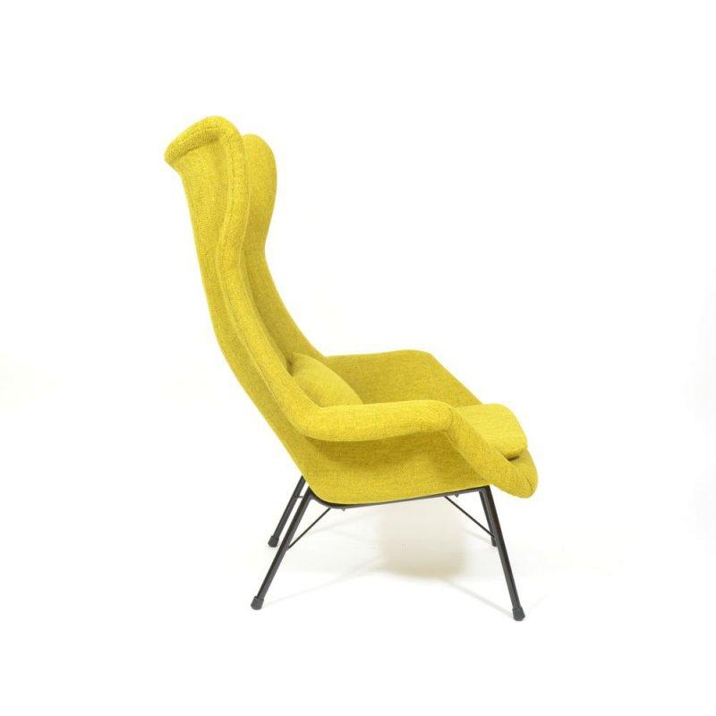 Yellow Fibreglass chair