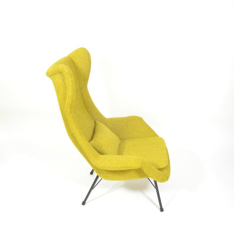 Yellow Fibreglass chair